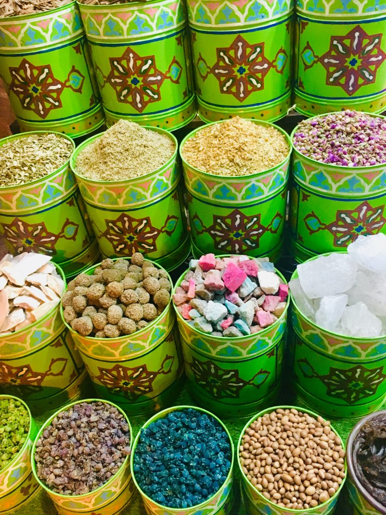 marrakech rejse farver afrika rejseguide krydderier (Foto: MY DAILY SPACE)