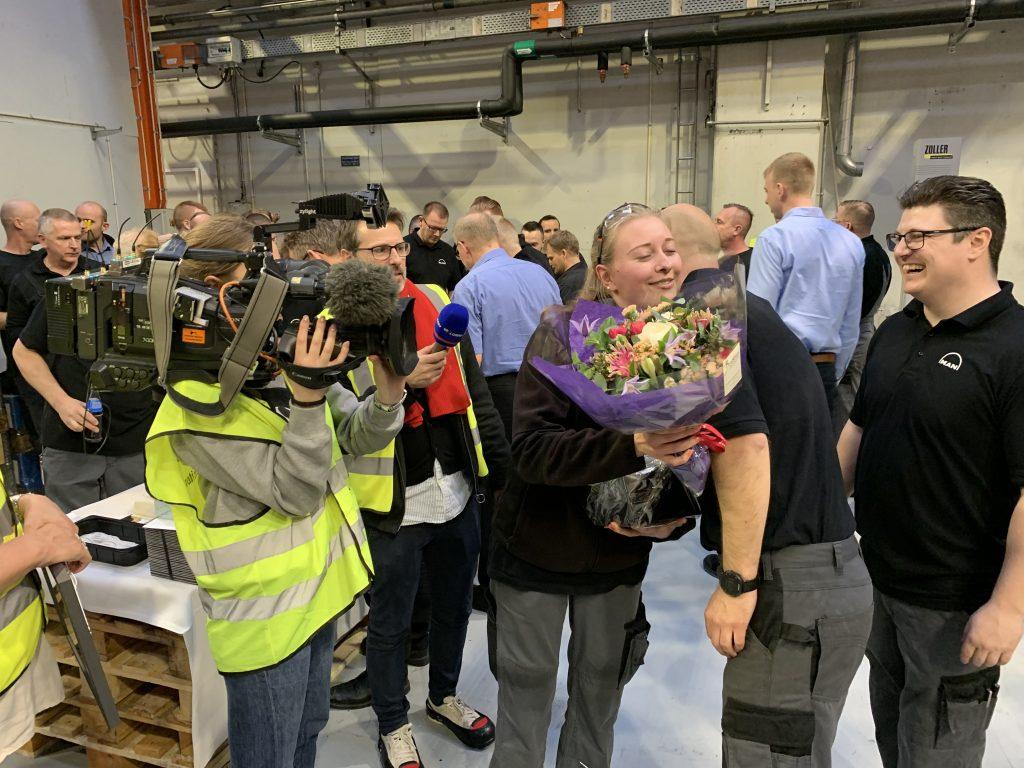 årets lærling DI dansk industri mønsterbryder mette foldager job (Foto: DI)