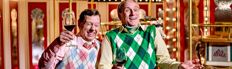 Tivoli-Rytteriet - live i Tivoli-Martin Buch og Rasmus Botoft som karaktererne Snobberne