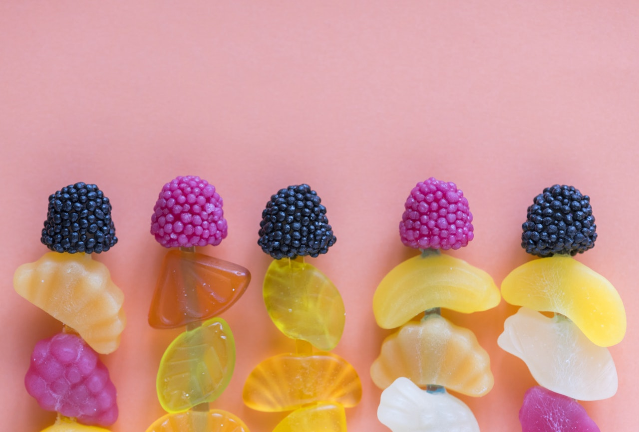 vingummi, snacks, slik, snack, livsstil, sundhed, valg, sundere alternativer