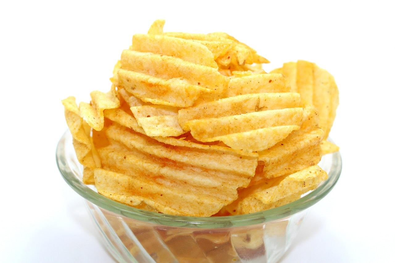 chips, snacks, snack, slik, godter, livsstil, helbred, sunhed
