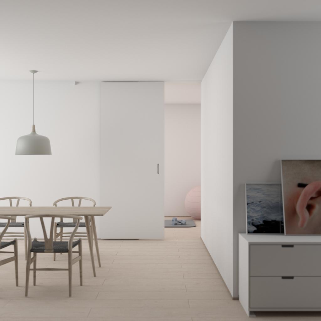 lejlighed - flytte hjemmefra - bolig boligkøb spisebord stole (Foto: PR)