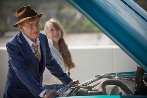 "Robert Redford as ""Forrest Tucker"" and Sissy Spacek as ""Jewel"" in the film THE OLD MAN & THE GUN. (Foto: Eric Zachanowich. © 2018 Twentieth Century Fox Film Corporation All Rights Reserved)"