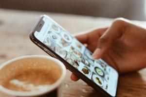 Instagram, app, feed, sociale medier, iphone, smartphone, mobil, telefon