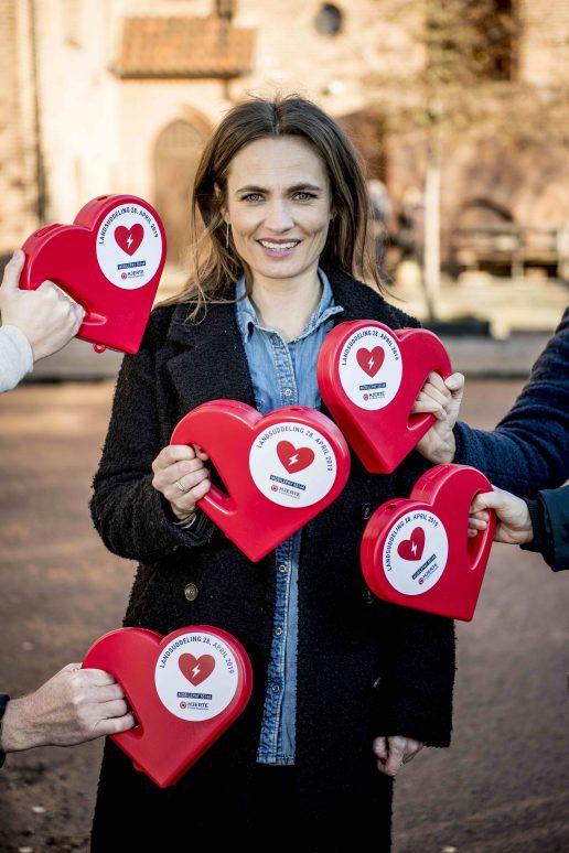 hjertestarter, hjerte, indsamling, hjerteforeningen