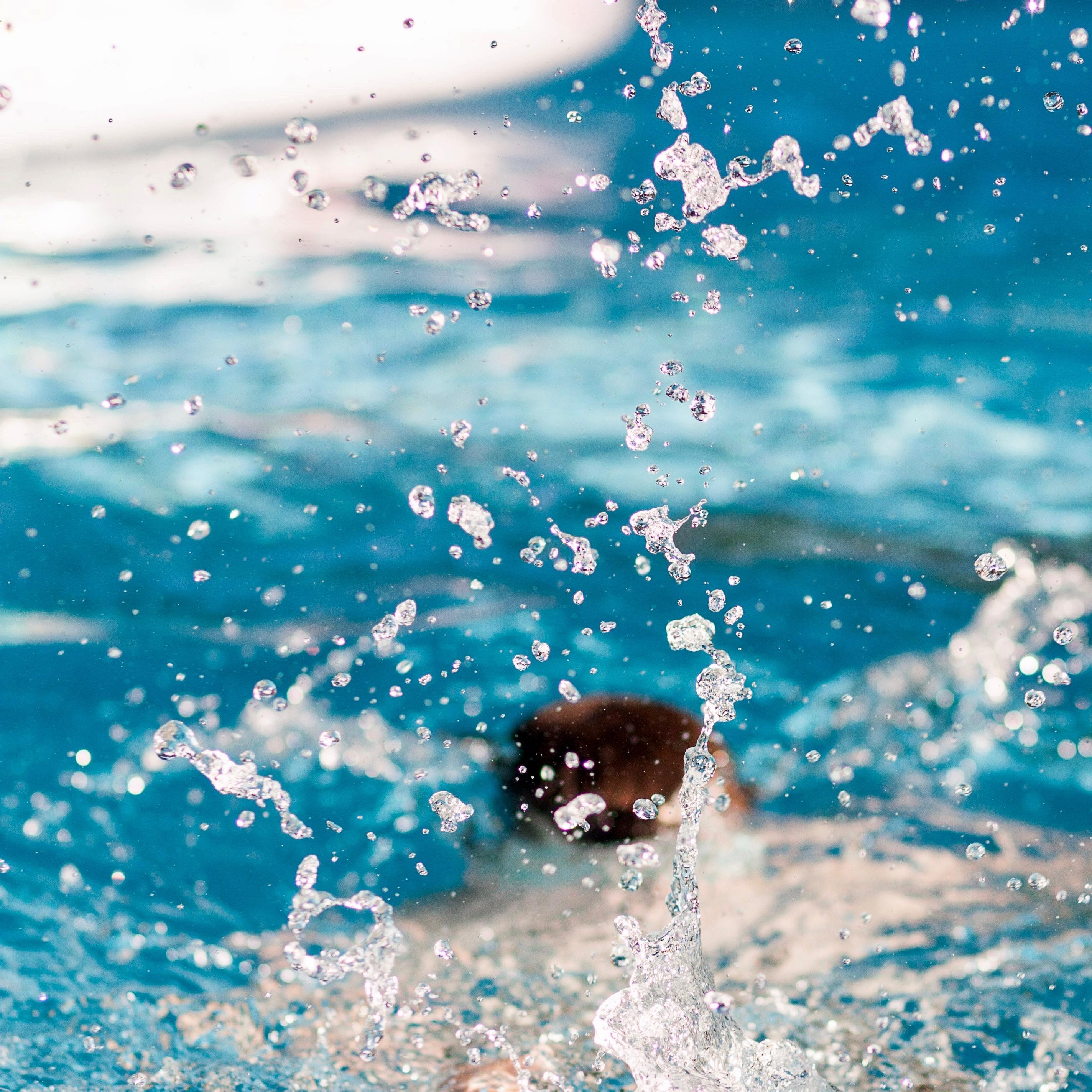 danskerne er vilde med svømmehallen (Foto: Unsplash)