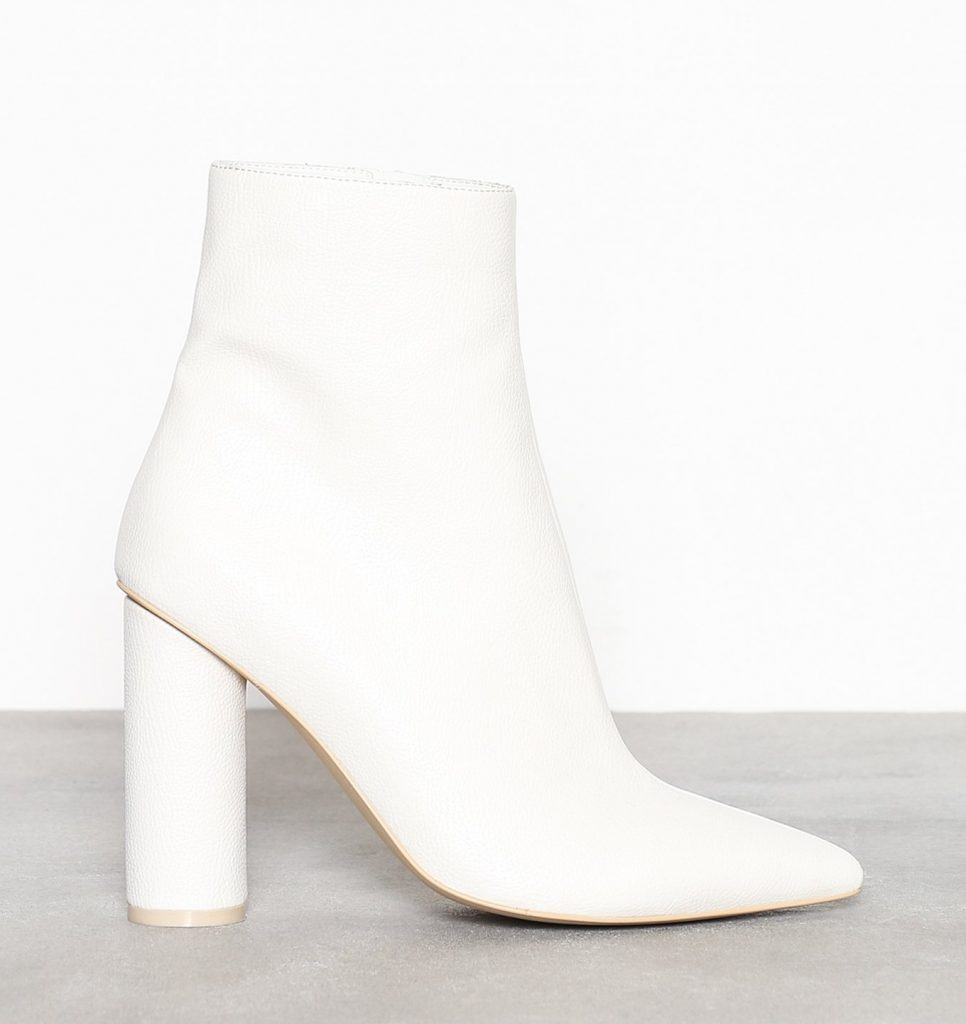 sko støvle hvide mode (Foto: Nelly.com)