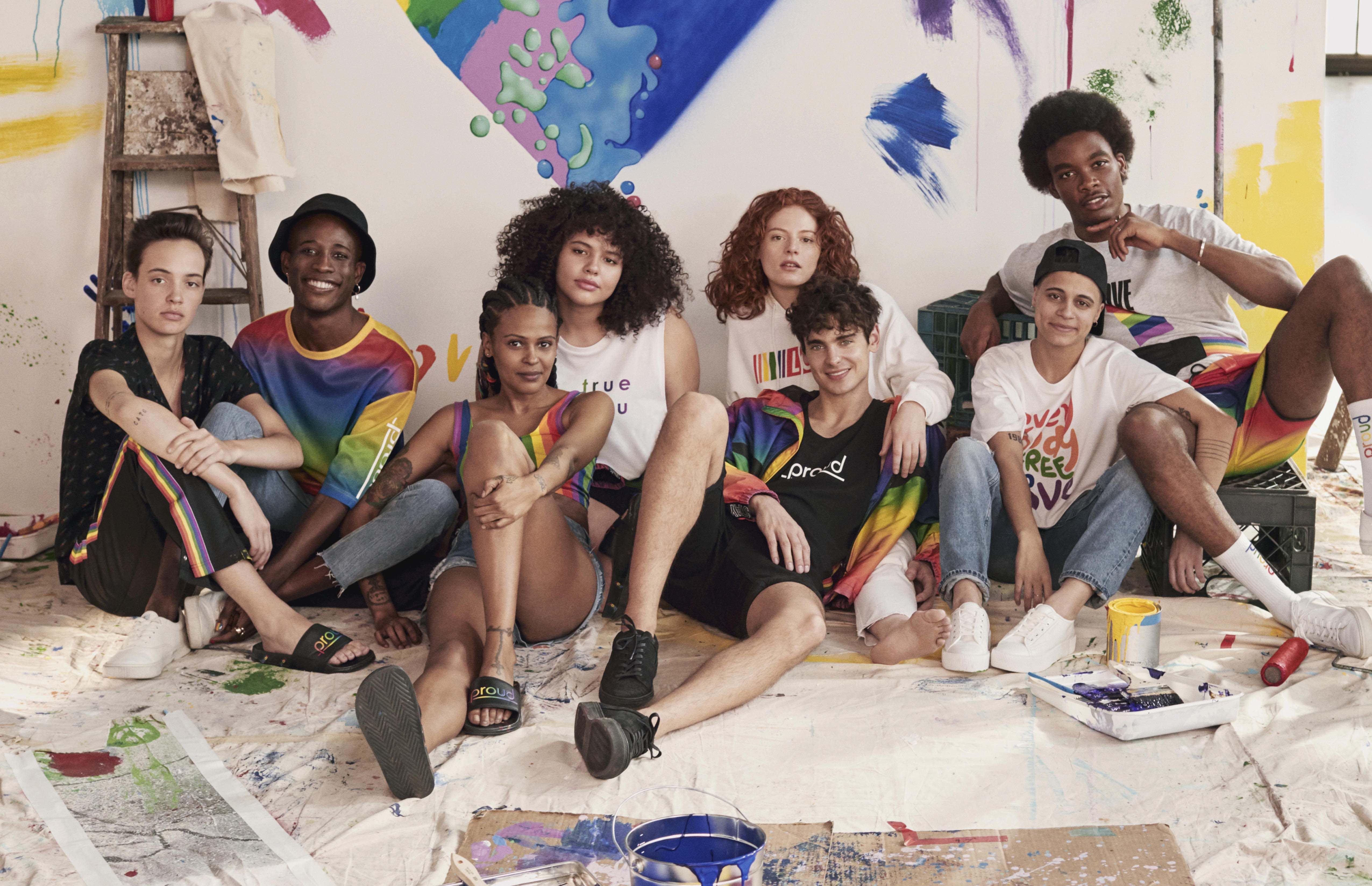 H&M, lighed, fællesskab, tøj, shopping, kollektion, lgbtqia