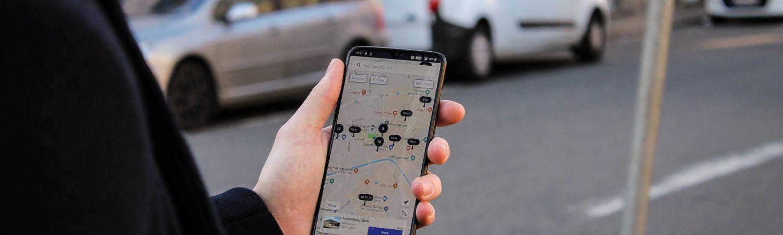 app, iværksætter, investorer, parkering, parkprivate