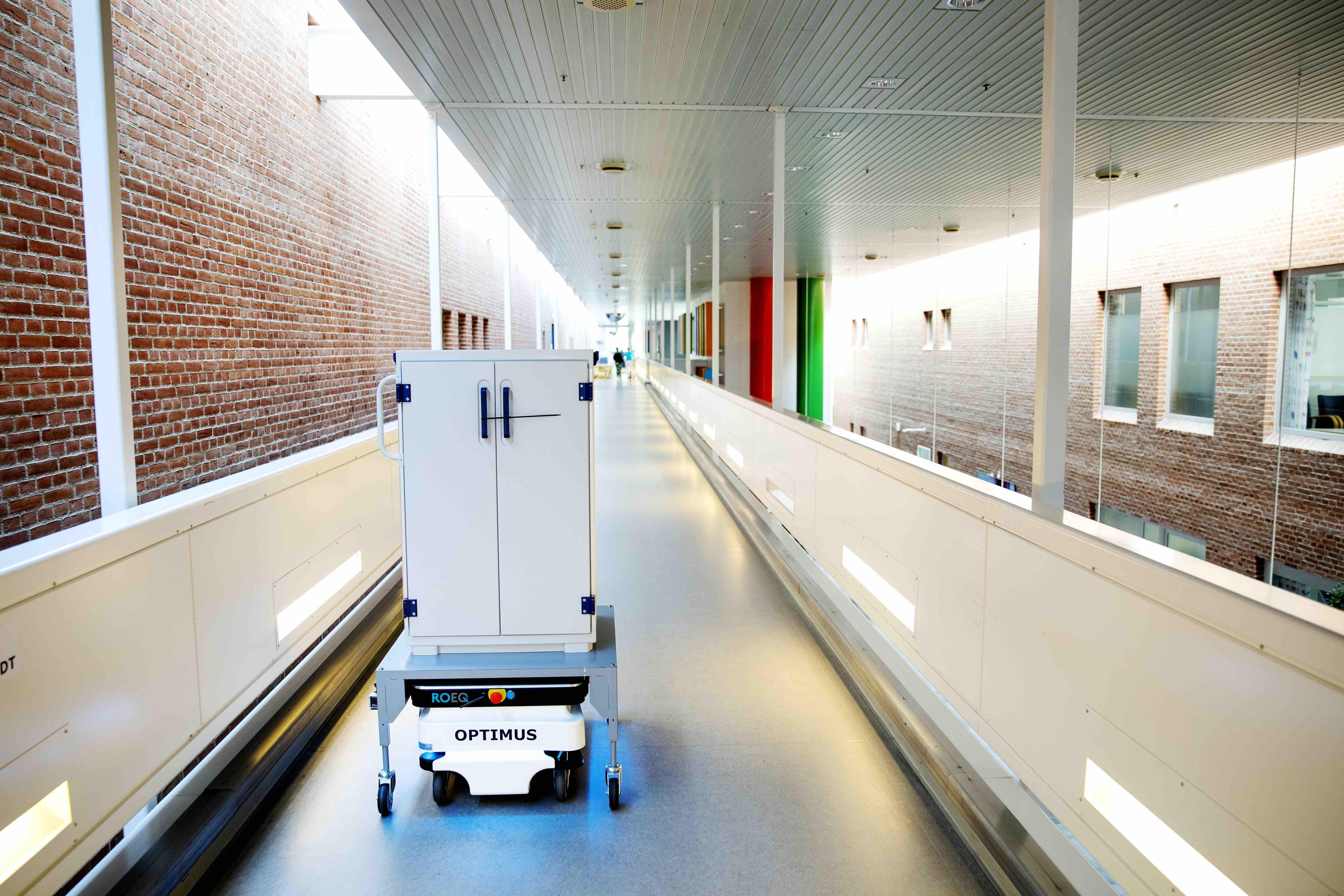 Robot, sygehus, teknologi