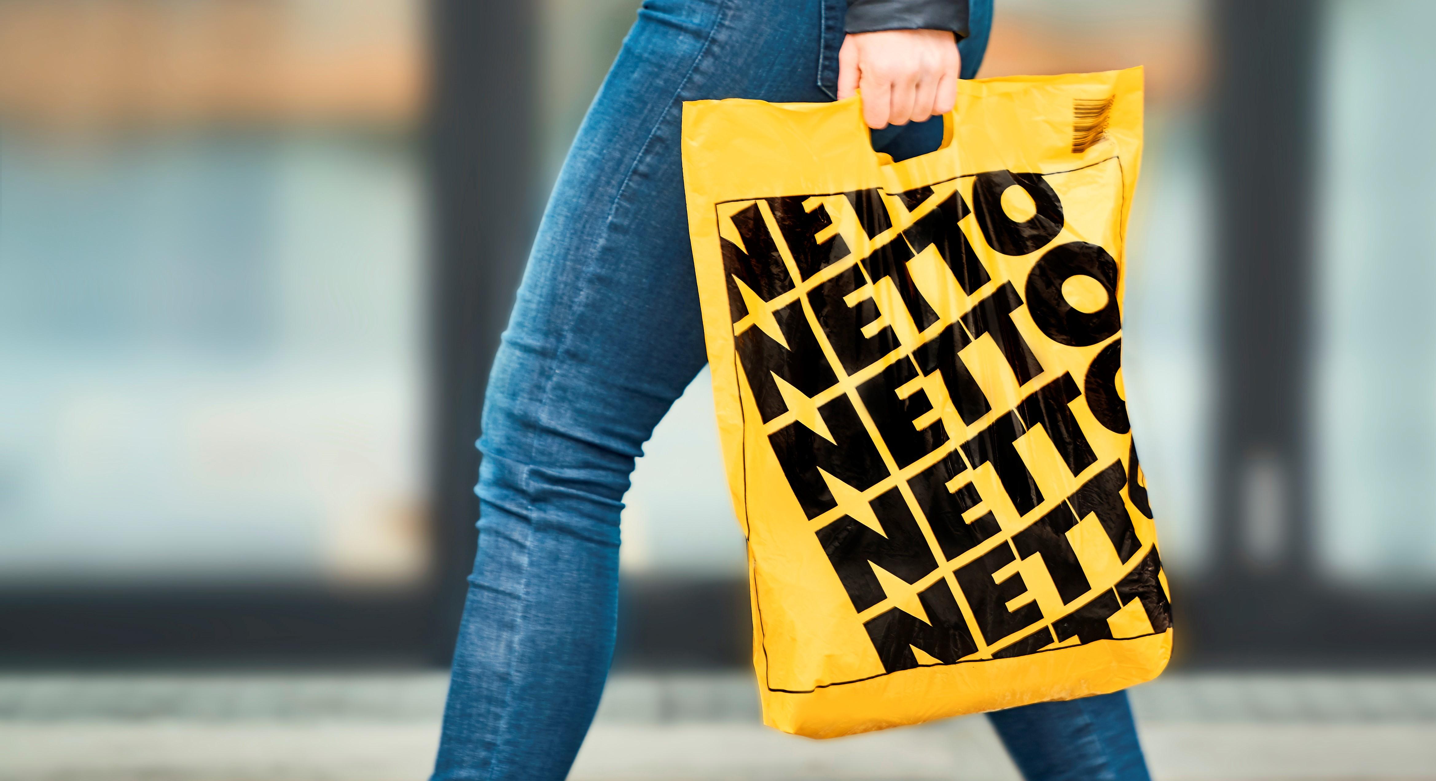 netto, salling group, plastik, plastikposer, pose