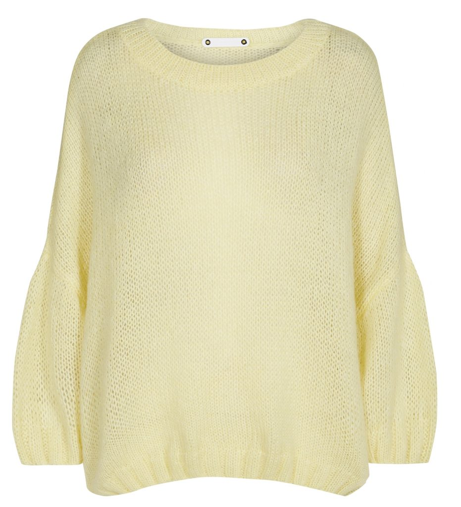 Co'Couture strik lemon sweater