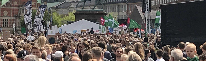 klima, klimamarch, demonstration