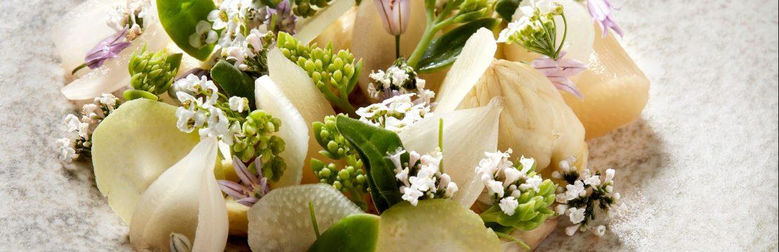 piselige blomster asparges opskrift forårsmad (Foto: Flemming Gernyx)