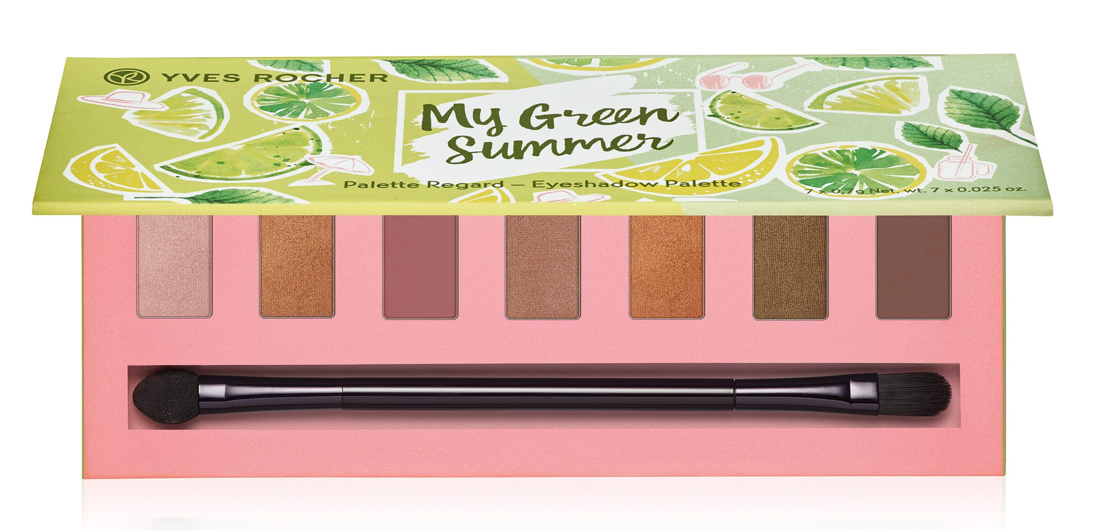 Yves_Rocher_My_Green_Summer_Eyeshadow_Palette øjenskygge