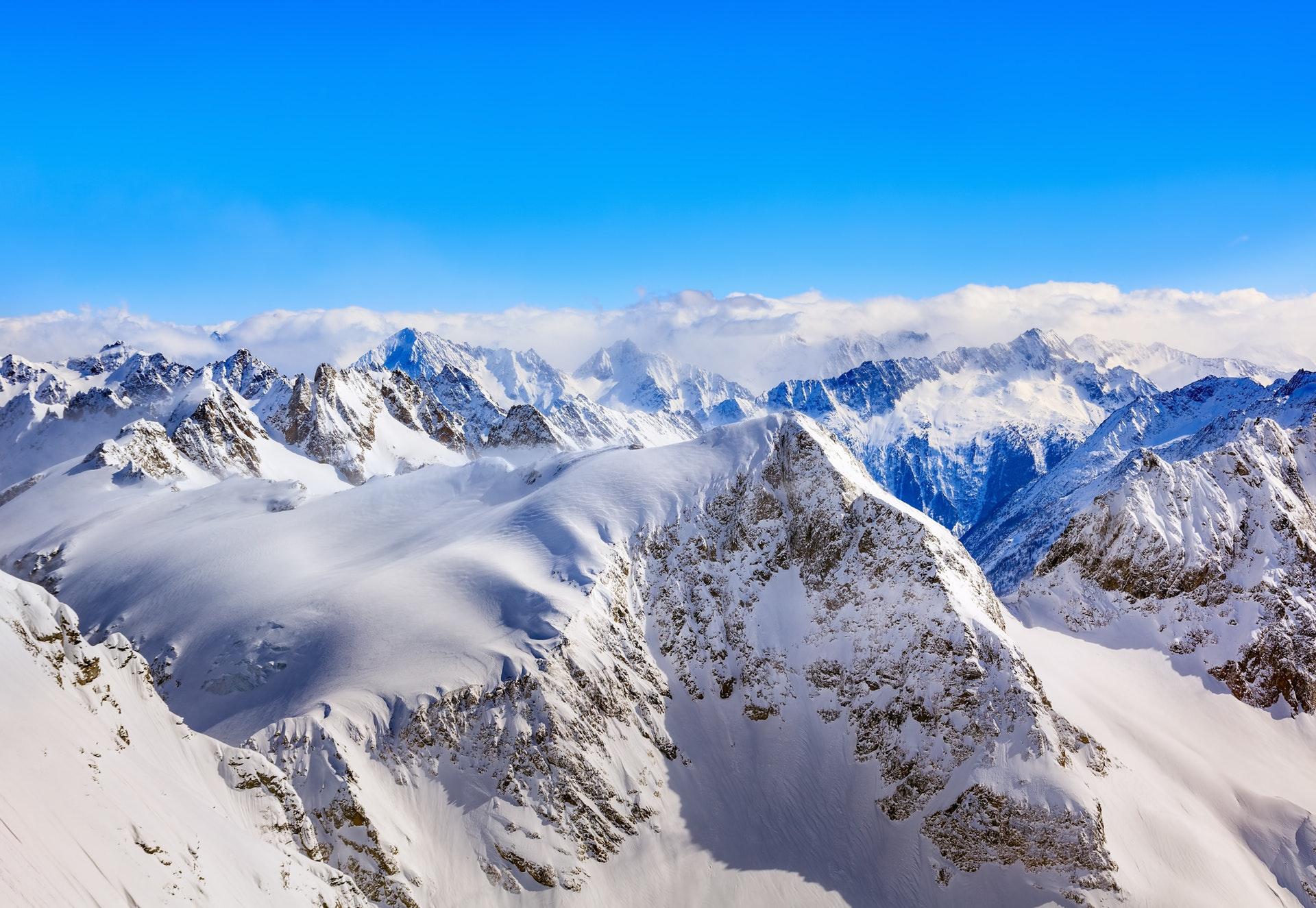 bjerg, bjerge, mount everest, alper, sne, natur, vandre, vandring