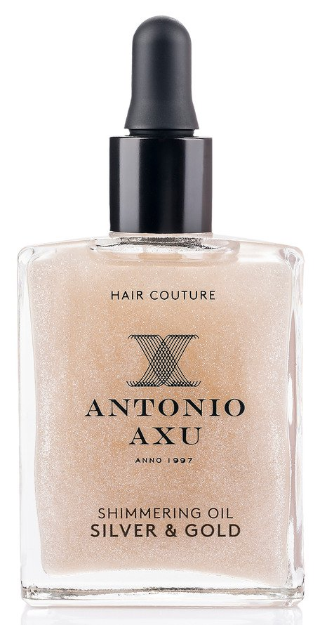 antonio axu shimmering oil hårolie