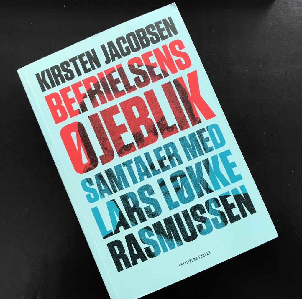 lars løkke rasmussen statsminister bog kirsten jacobsen (Foto: MY DAILY SPACE)