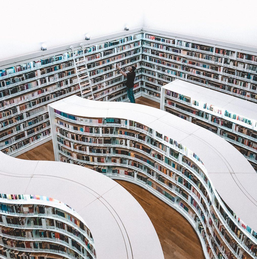 bog bøger bibliotek bogopsætter (Foto: Unsplash)