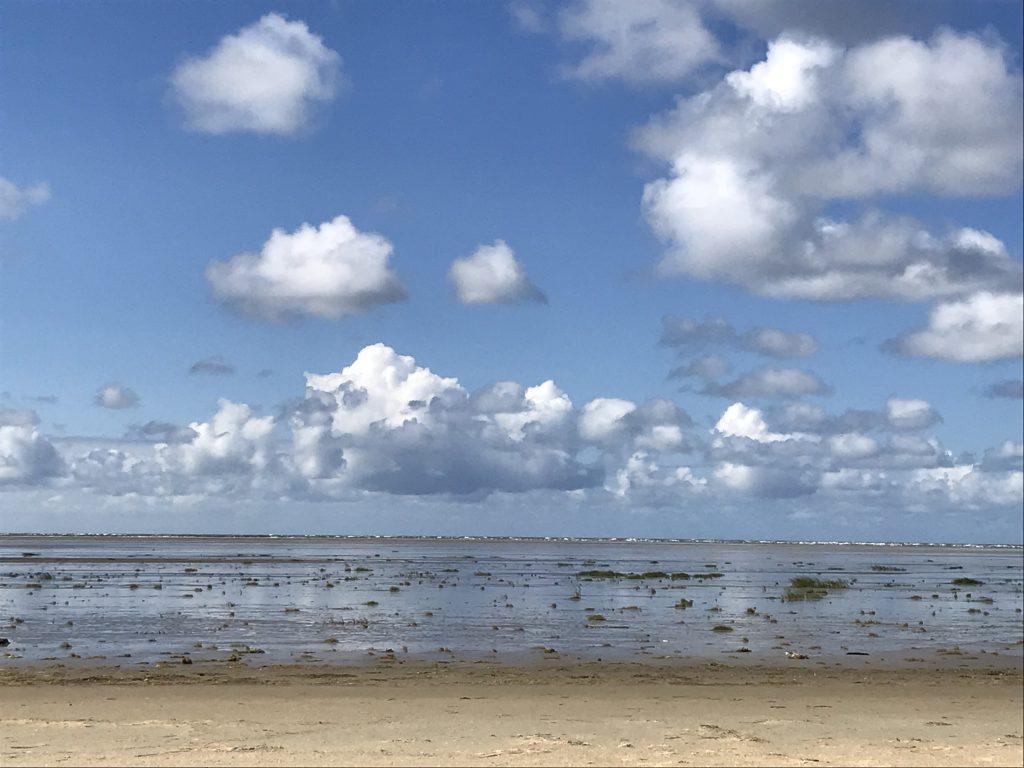 vand vadehavet sky himmel strand fanø danmark (Foto: MY DAILY SPACE)