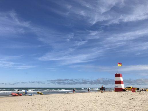 blokhus strand livredder vesterhavet nordjylland danmark (Foto: MY DAILY SPACE)