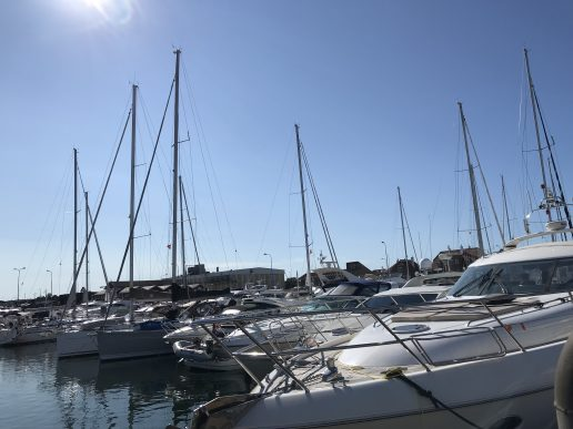 havn havnen lystbåde skagen vesterhavet nordjylland danmark (Foto: MY DAILY SPACE)