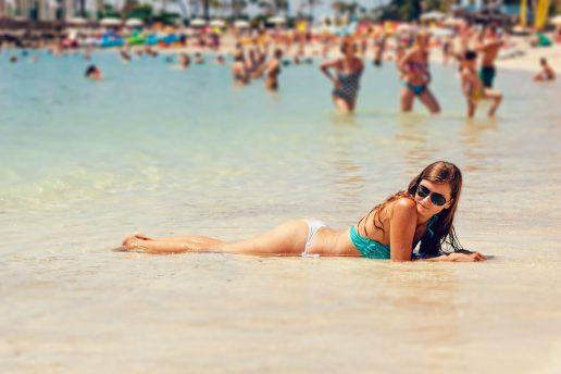 ferie, beach, strand, tanning, tan, solbadning, vand, vandkant, hav, sommer, summer