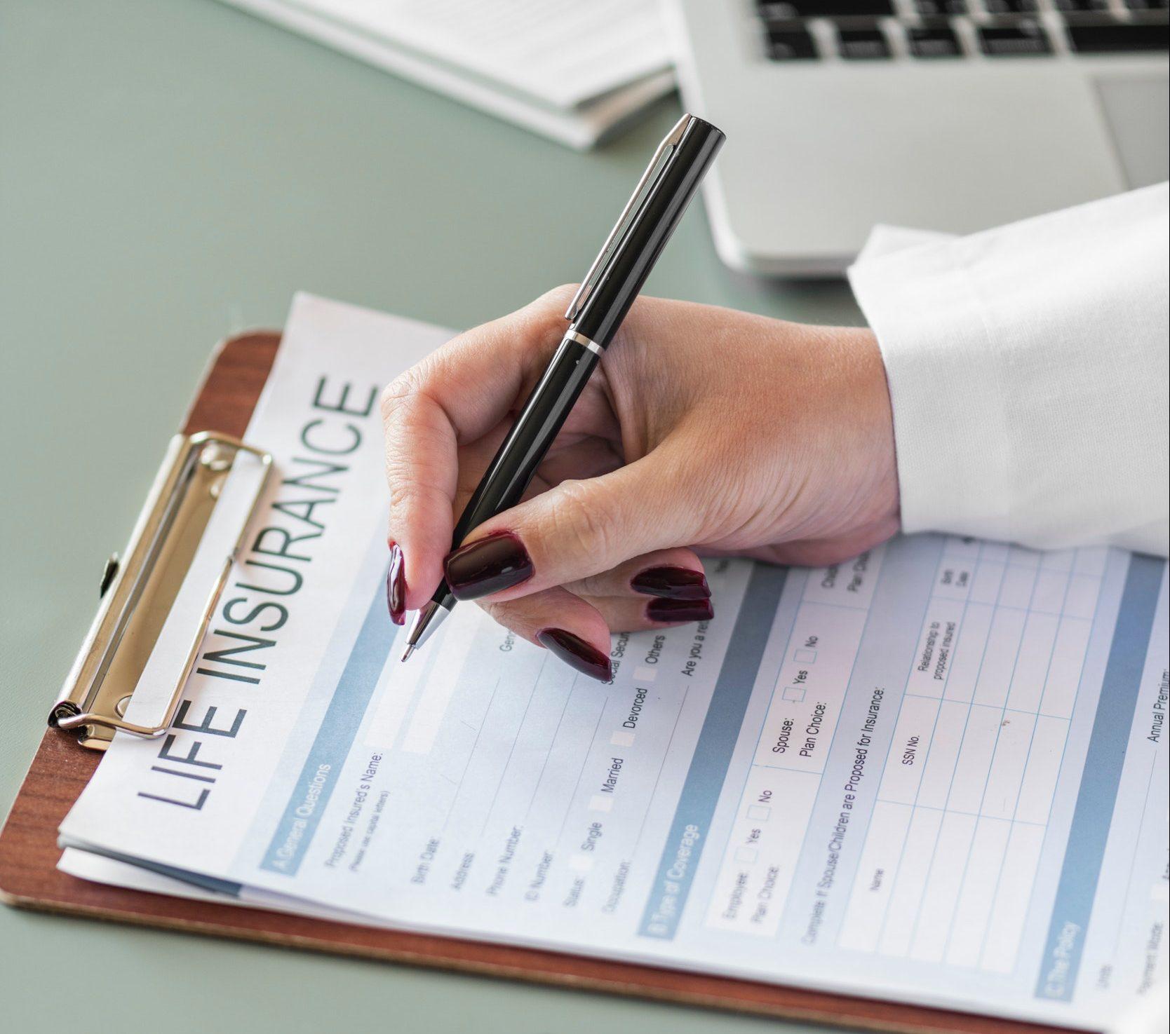 forsikring, livsforsikring, lige insurance, papirer