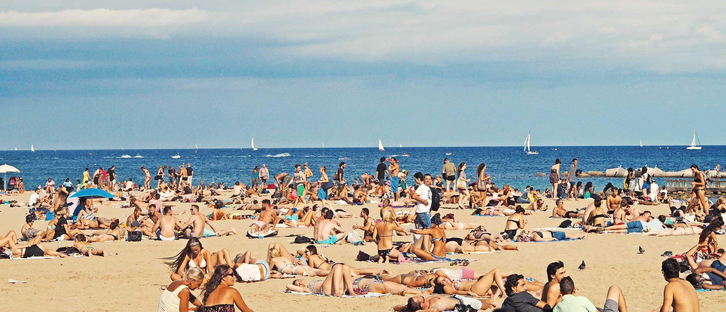 sol, sommer, summer, strand, beach, sand, people, solbadning