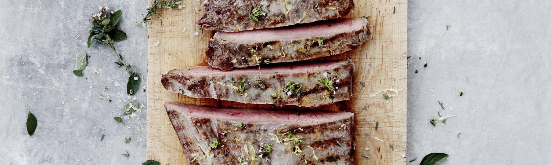 flank flanksteak grill kød læsø opskrift helle brønnum carlsen (Foto: John Bendtsen)