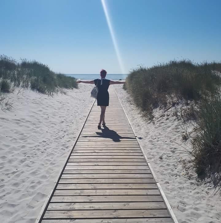 bornholm, dueodde, badeferie, ferie, holiday