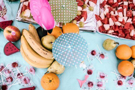 madspild frugt sommer bananer melon party (Foto: Unsplash