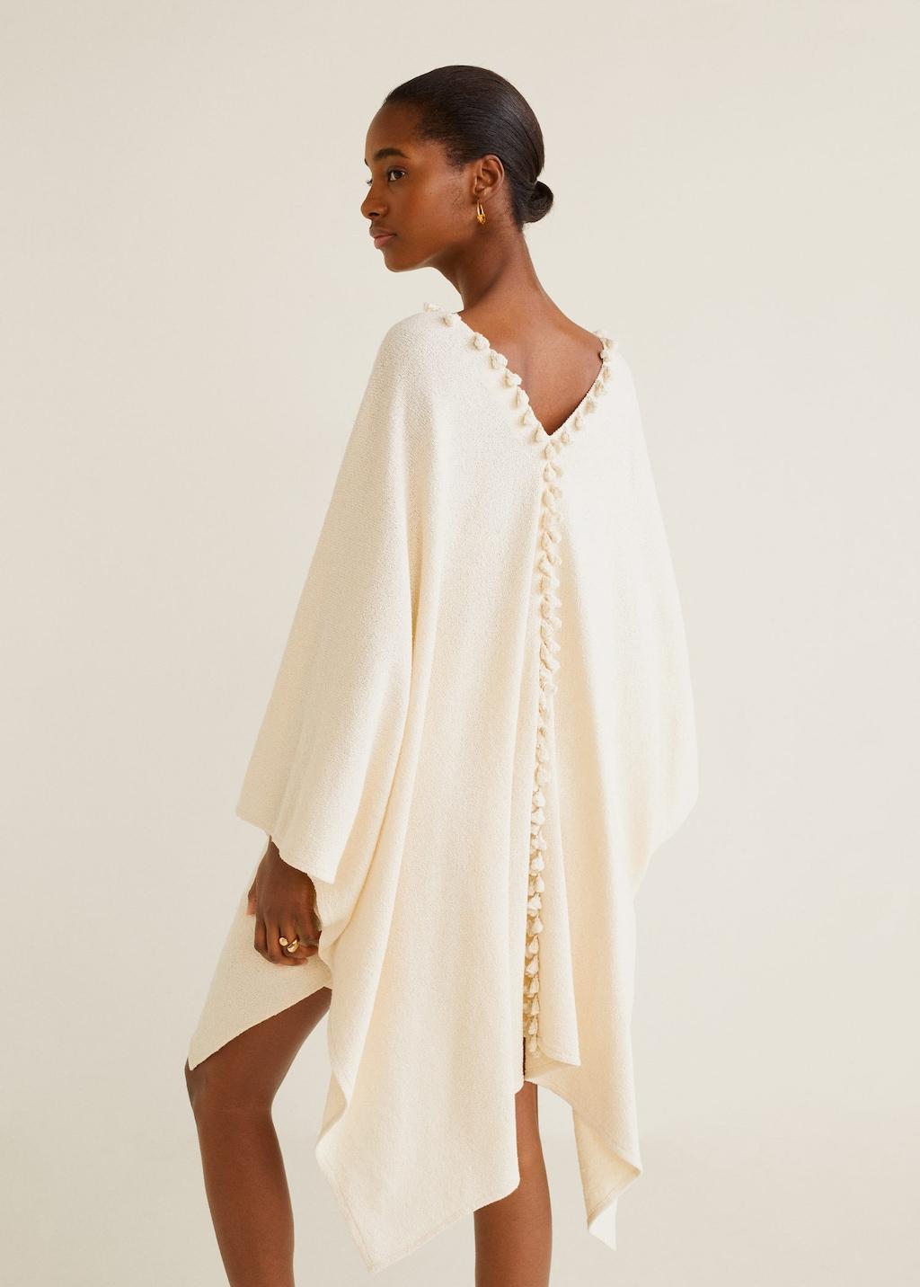 kimono, kaftan, sommer, look, outfit