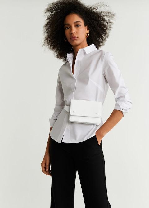 mangotaske, mango, taske, crossover, white bag, bag