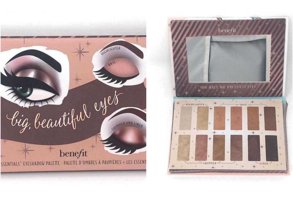 benefit øjenskygge øjenskyggepalette makeup