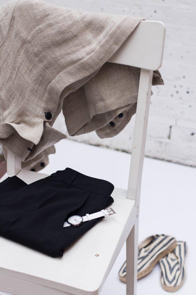 Tøj, foldet, planlagt, rutine, outfit (Foto: Unsplash)