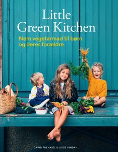 bog spinat hytteost vafler little green kitchen (Foto: David Frenkiel)