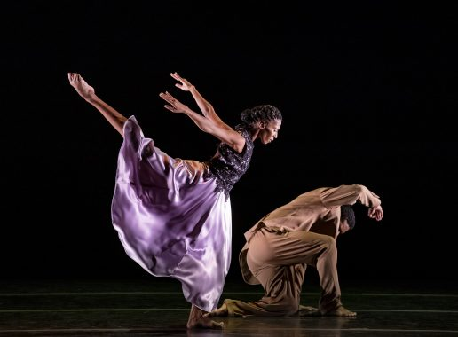 Alvin Ailey American Dance Theater - Jacqueline Green and Solomon Dumas in Ronald K. Browns The Call. Photo by Paul Kolnik