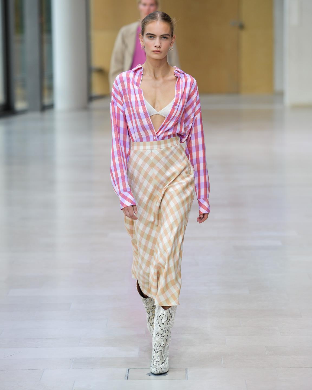 Samsoe Samsoe, Samsøe, modeuge, fashionweek, fw, designer, design, mode, fashion, show, fashionshow, model, outfit, look, ss20