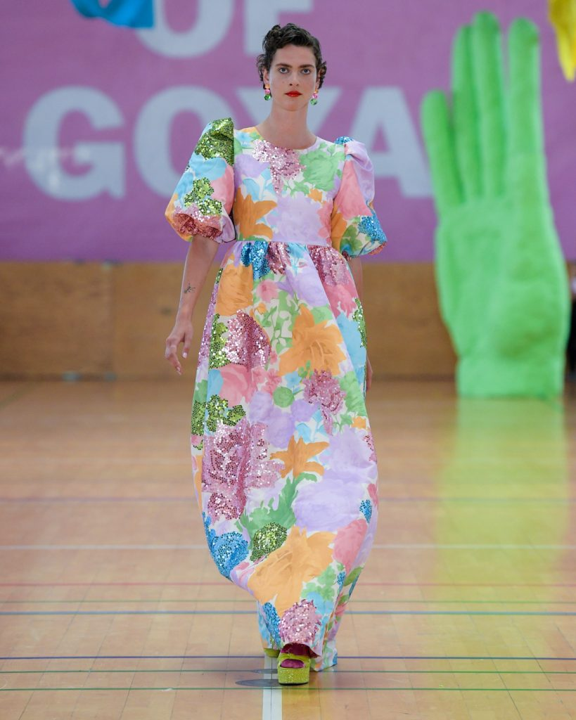 Stine goya, modeuge, fashionweek, fw, designer, design, mode, fashion, show, fashionshow, model, outfit, look, ss20