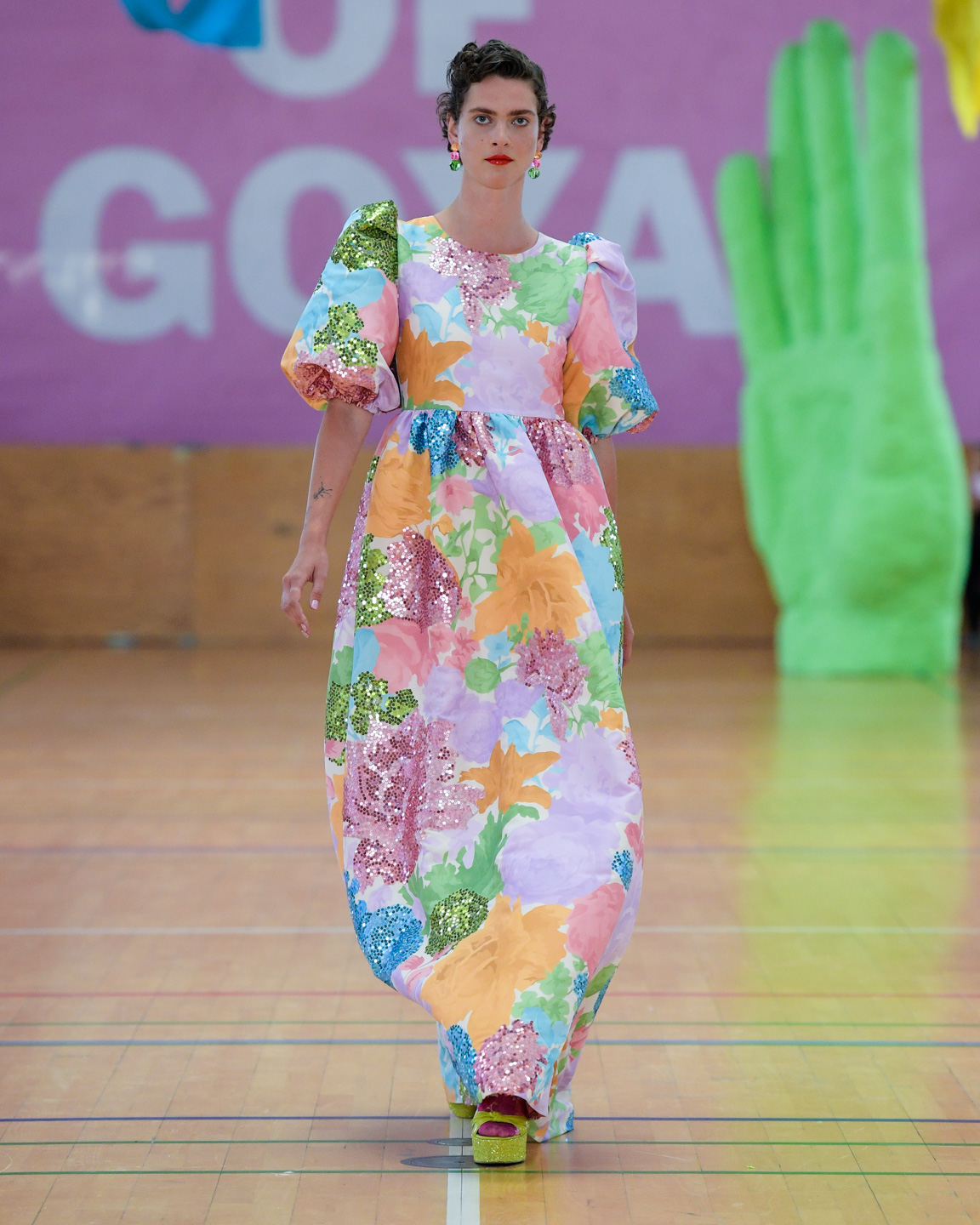 Stine goya, modeuge, fashionweek, fw, designer, design, mode, fashion, show, fashionshow, model, outfit, look, ss20