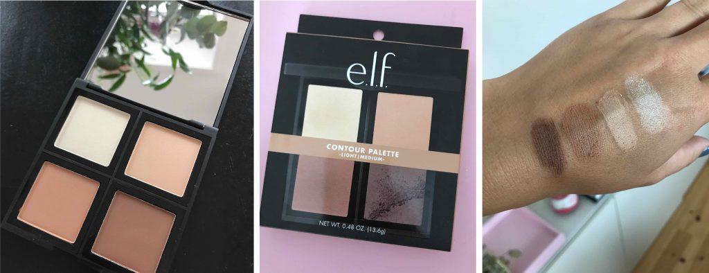 collage, elf, cosmetics, kosmetik, contour palette, contouring, e.l.f