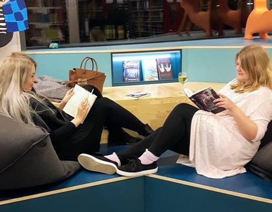silent reading odense, event, bibliotek, event, kultur, kulturguide