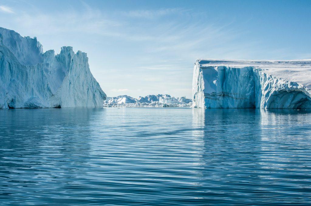 Ilulissat Icefjord, Grønland. (Foto: Unsplash)
