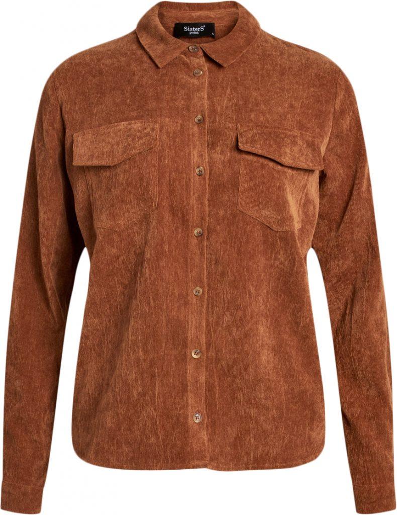 skjorte brun fløjl efterår