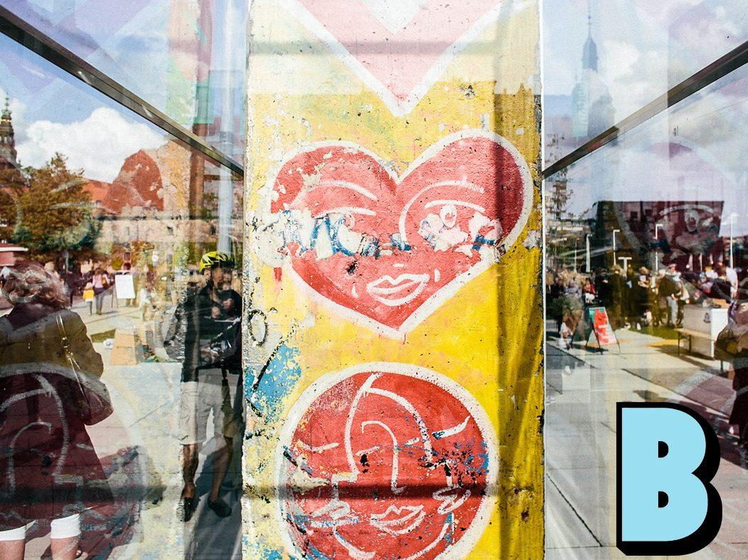kulturguide, berlinmuren