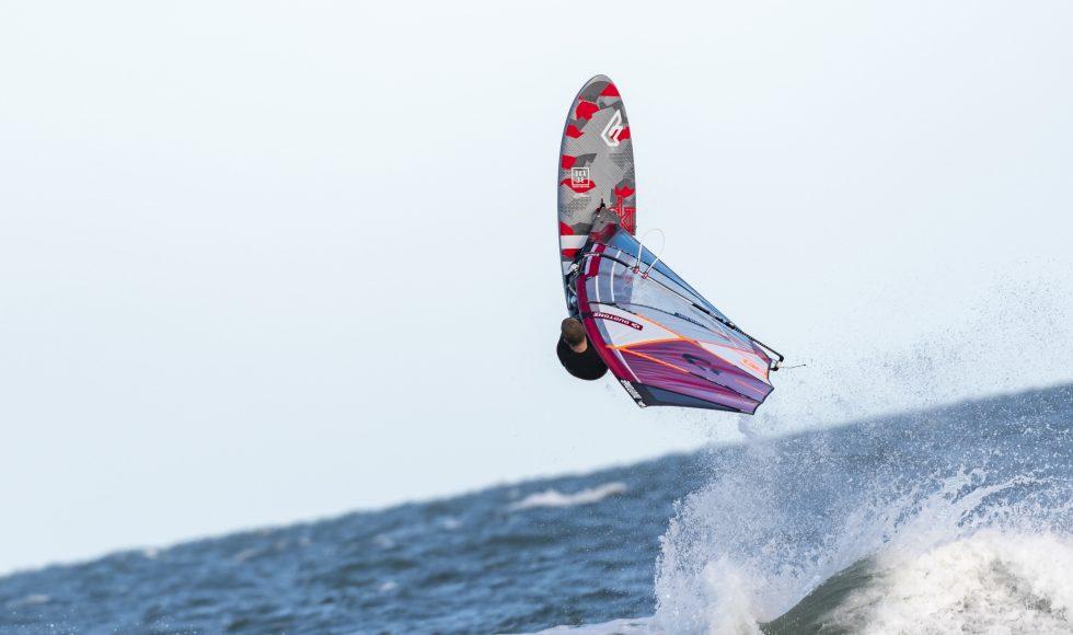 windsurfting vand klitmøller em (Foto: Dennis Engblad)
