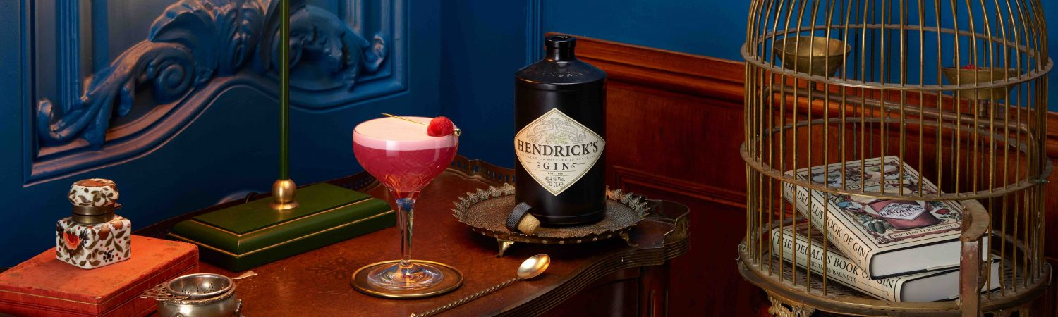 clover club, cocktail. drink. gin, hendrick's
