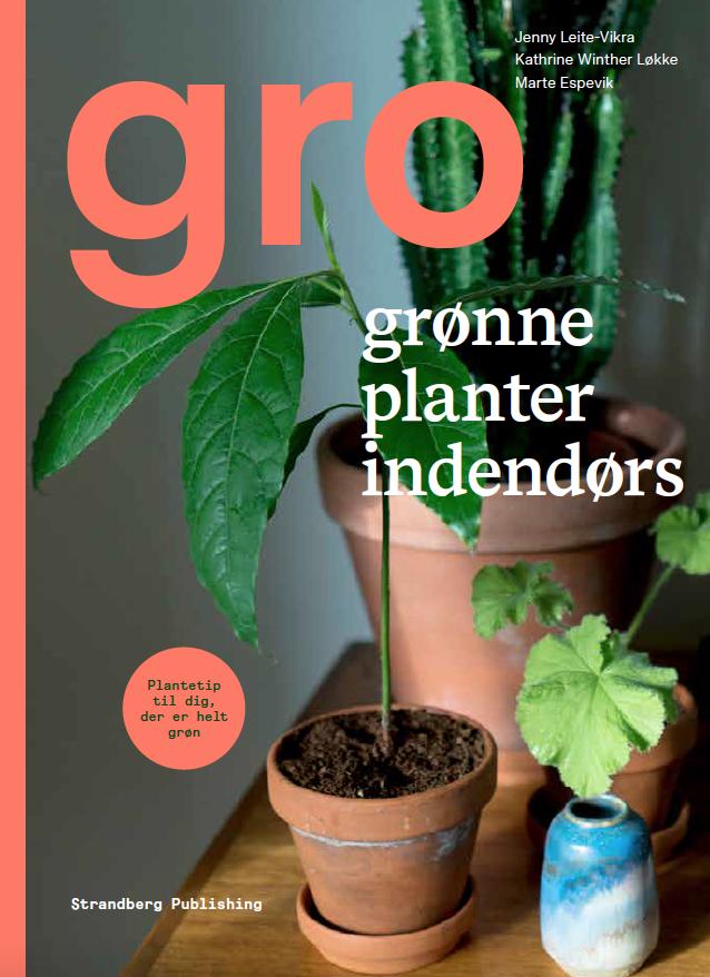 Forside gro grønne planter indendørs bog (Foto: Jenny Leite-Vikra)