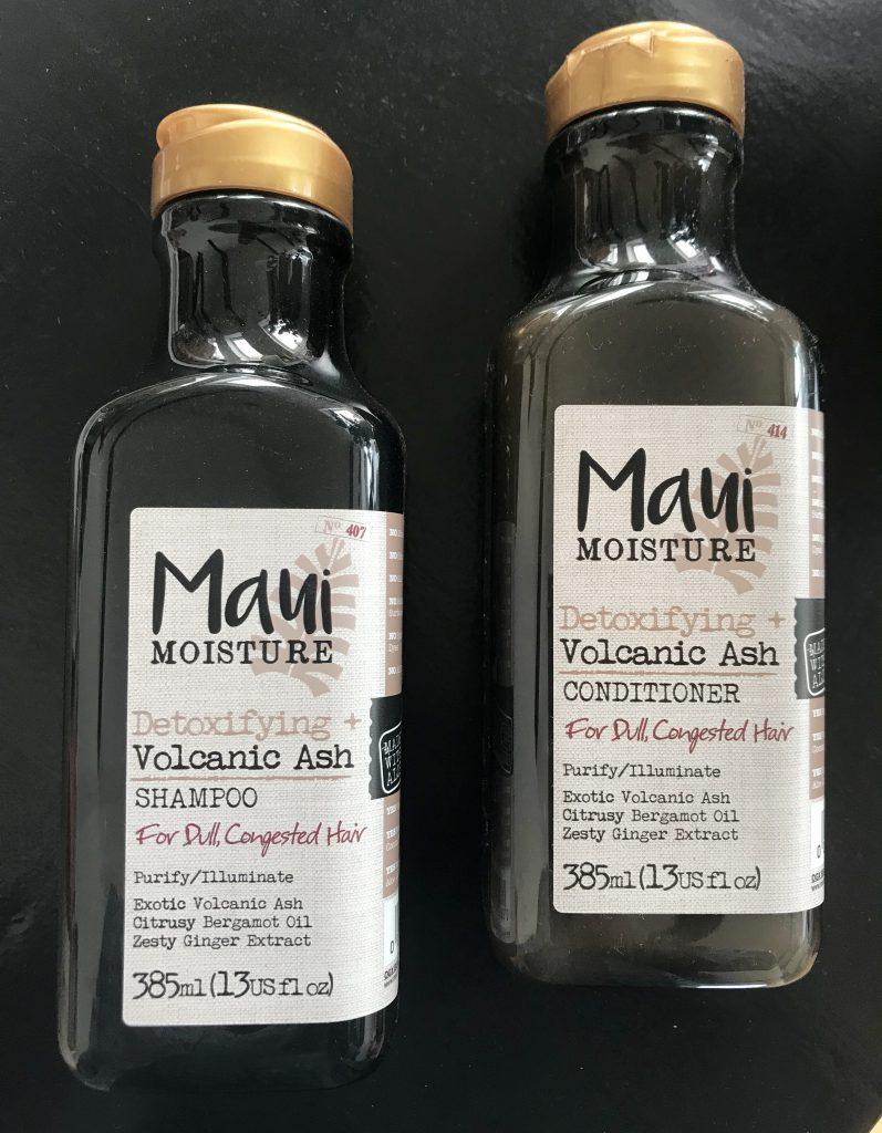 maui shampoo conditioner vulkansk aske hårpleje